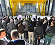 Spie batignolles TPCI delivers the hangar to receive the cryostat pre-assembly
