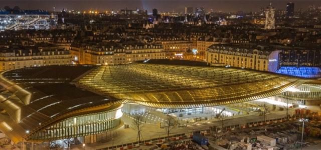 La canopée signal architectural du renouveau des halles