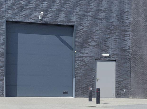 Technipac ext et is nouveaux blocs portes de service for Portes de service metallique