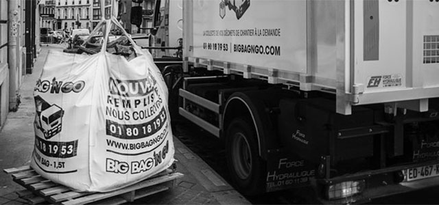 Big Bag 'N Go : la collecte de déchets de chantier à la demande - © Big Bag 'N Go