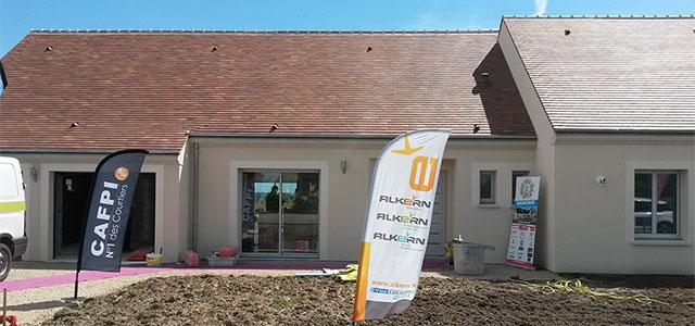 Inauguration la premi re maison nergie positive de la for Constructeur de maison region centre