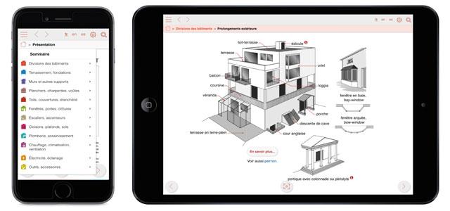 dicobat lance visuelbat la 1 re application 100 visuelle d di e au vocabulaire du b timent. Black Bedroom Furniture Sets. Home Design Ideas