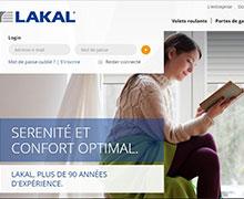 Lakal upgrades its website