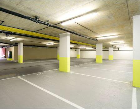 r novation du parking souterrain d une r sidence de luxe batinfo. Black Bedroom Furniture Sets. Home Design Ideas
