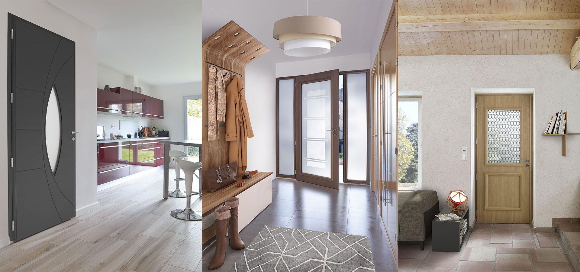 porte d entr e mixte bois aluminium zilten triple son. Black Bedroom Furniture Sets. Home Design Ideas