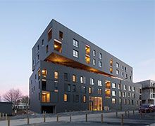 The Myral solution implemented on the largest collective building in the Great West labeled Passivhaus