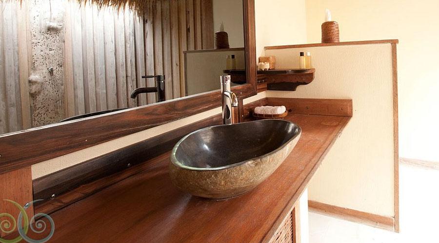 Nouvelle collection de vasques en pierre de rivière de Java pour ...