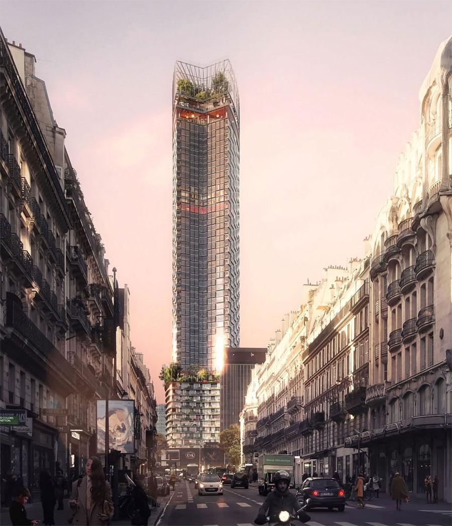 la tour montparnasse va tre transform e par trois agences d 39 architecture fran aises batinfo. Black Bedroom Furniture Sets. Home Design Ideas