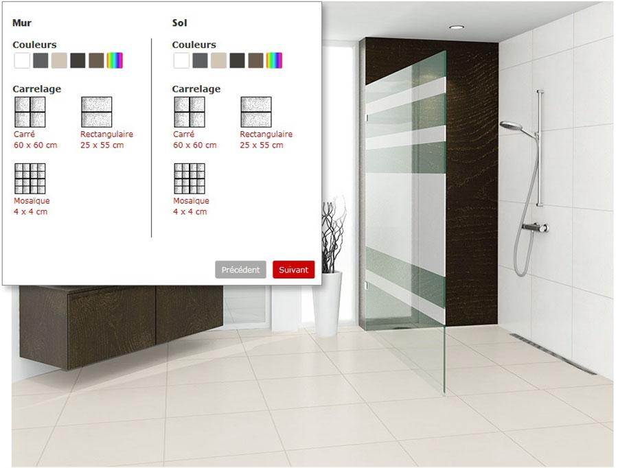 Nouveau configurateur aco showerdrain pour les projets de for Configurateur cuisine en ligne