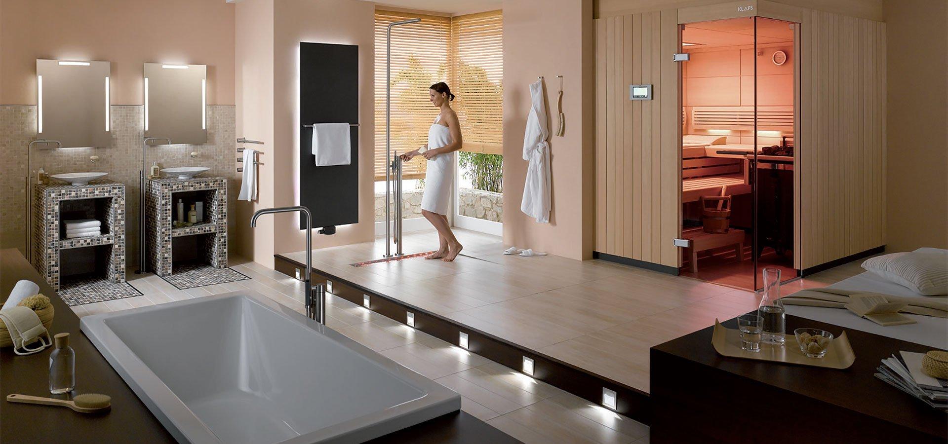 nouveau configurateur aco showerdrain pour les projets de salle de bains batinfo. Black Bedroom Furniture Sets. Home Design Ideas