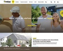 The new Weber site is online
