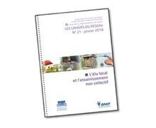 """The AMF and the FNCCR publish the guide """"Local elected representatives and non-collective sanitation"""""""