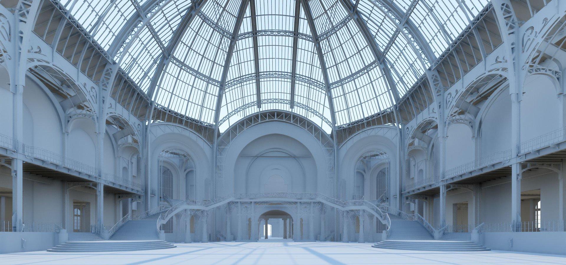 Restauration du grand palais comment entrer dans le for Architecte grand palais