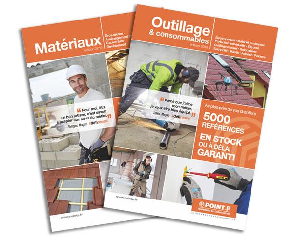 nouveaux catalogues mat riaux et outillage chez point p. Black Bedroom Furniture Sets. Home Design Ideas