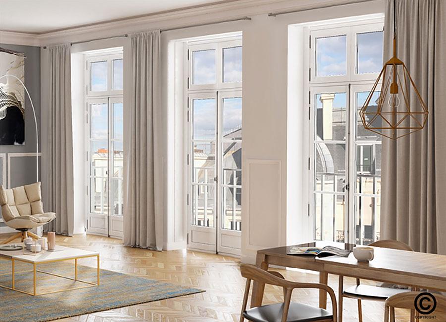 Fenêtres Bois Sy Le Style Louvre Dans La Pure Tradition