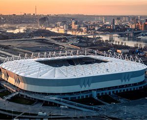 A Flexlight Xtrem TX30 roof for the Rostov Arena