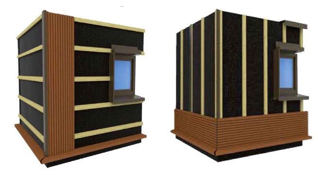 nouveau bardage composite weo batinfo. Black Bedroom Furniture Sets. Home Design Ideas