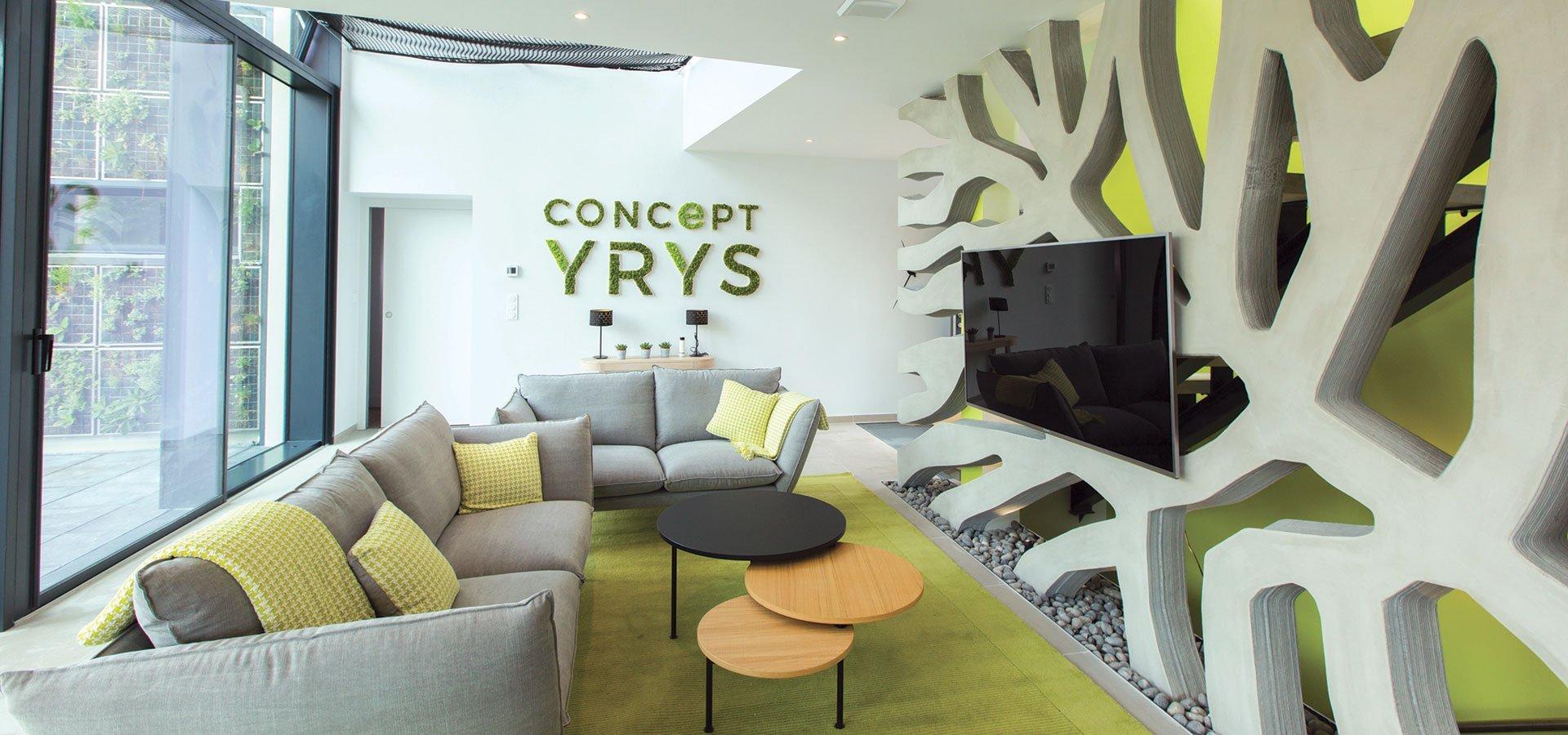 Fin des travaux pour concept yrys by mfc la vitrine technologique de la maison du futur batinfo