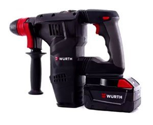 Wurth Presente Son Marteau Perforateur A Batterie Li Ion 28V H28 MA