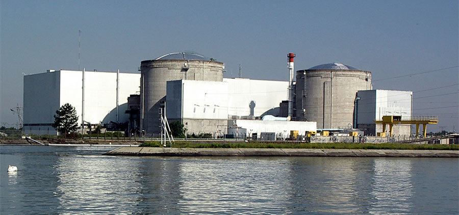 Centrale de Fessenheim - © Wikimedia Commons - Licence Creative Commons
