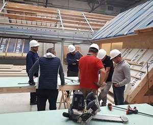 Premier bilan positif pour les formations clients d'Unilin Insulation
