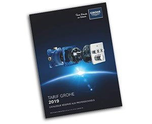 Le catalogue tarif Grohe 2019 est disponible