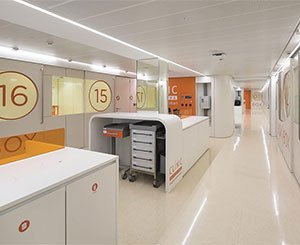 HI-MACS® au cœur de la rénovation de l'Hospital Clinic de Barcelone