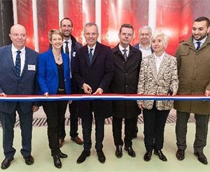 Inauguration of the Jules Verne climatic wind tunnel