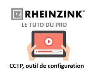 Rheinzink publishes online video help to create a custom zinc coverage CCTP