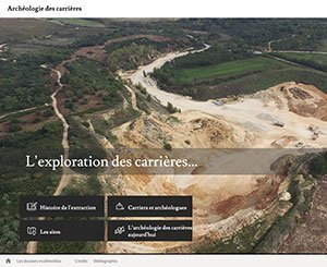 New website illustrates archaeological discoveries made in French quarries