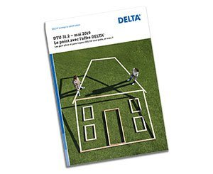 Delta publishes a brochure to prove the conformity of its membranes with the new DTU 31.2