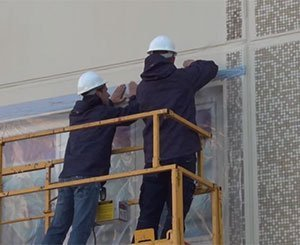 The Myral asbestos facade insulation solution tested in real conditions