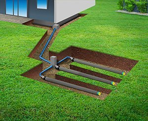 Are you building? How to manage water in the soil through drainage, evacuation and infiltration