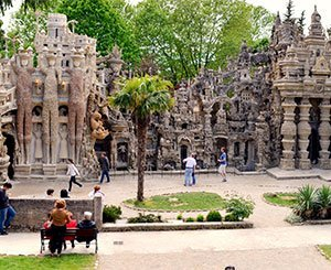 """Postman Cheval's ideal Palace, """"saved"""" by Malraux 50 years ago"""