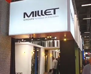 Le Groupe Millet à Batimat 2019