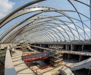 Over 4.000 m² of Ytong fire walls for the future Lillenium shopping center