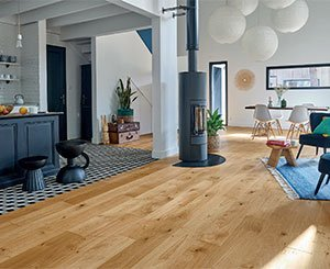 Café crème and Honey, two new nuanced finishes for Panaget parquet floors
