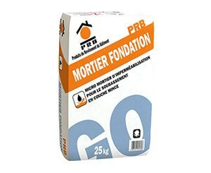 PRB MORTIER FONDATION, a new waterproofing micro-mortar for foundations