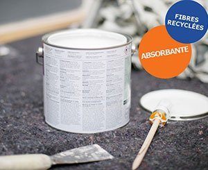 Polyprotec Absorb: absorbent protective tarpaulin for paint professionals