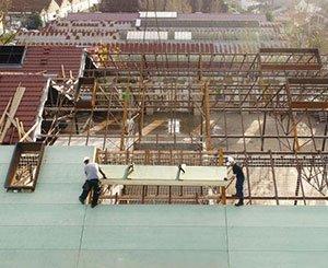 Unilin Insulation Rexolatte panels top the Darwin ecosystem in Bordeaux