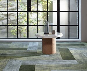 """Milliken unveils its latest collection of LVT """"Change Agent"""" carpets and tiles"""