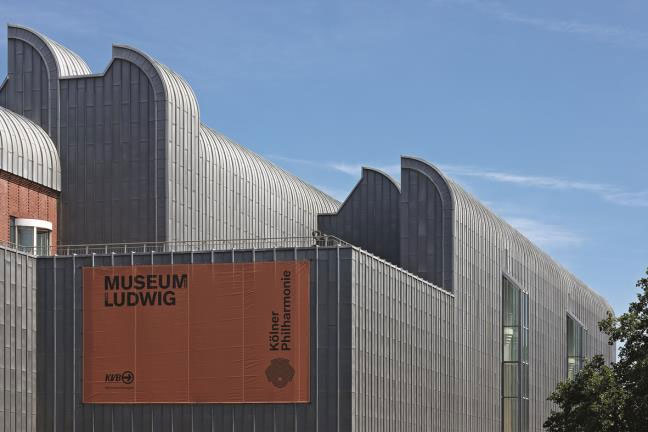 Museum Ludwig Köln © RHEINZINK