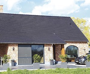 Edilians' Ténord Huguenot roof tile certified NF Low Slope