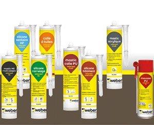 Weber launches a range of sealants