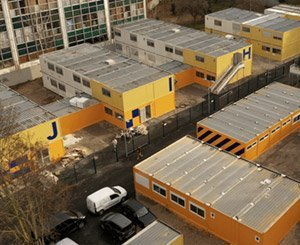 Deltamod delivered 5.000 m² of refurbished modular buildings in Clichy (92)