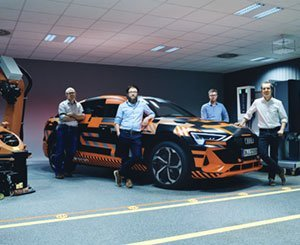 Hager Group and Audi AG present Vehicle to Home, two-way charging from vehicle to home