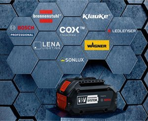 Bosch opens its 18V battery system to other brands
