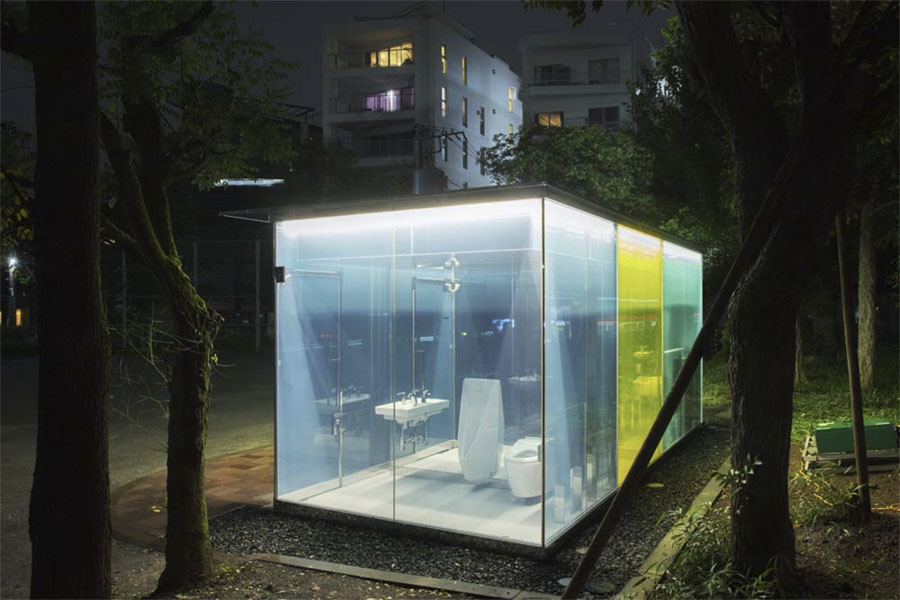 """© Shigeru Ban for """"The Tokyo Toilet Project"""""""