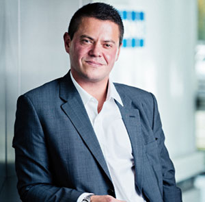 Guillaume Fournier Favre, President of the Federation of Elevators - © Ipsos