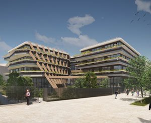 Eiffage will build Lidl's new head office in Châtenay-Malabry for nearly € 140 million
